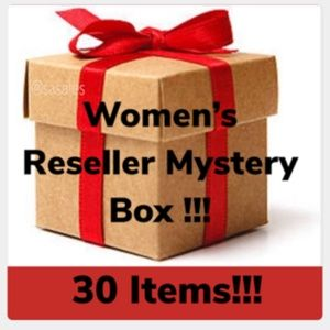 5 Star Rated Women's Reseller Mystery Box 30 Items